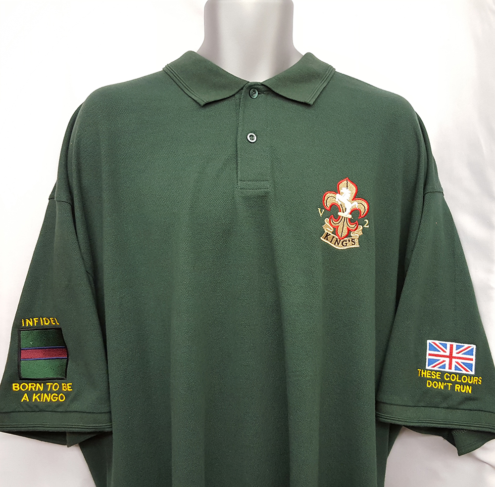 Custom Military Embroidered Polo Shirts – EDGE Engineering